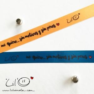 pulseras LilO me quiero
